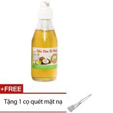 Dầu Dừa Nguyên Chất Út Giang 100ml + Tặng 1 Cọ Quét Mặt Nạ