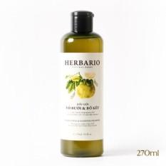 Liệu trình kích thích mọc tóc, phục hồi tóc hư tổn gồm 1 dầu gội Herbario,