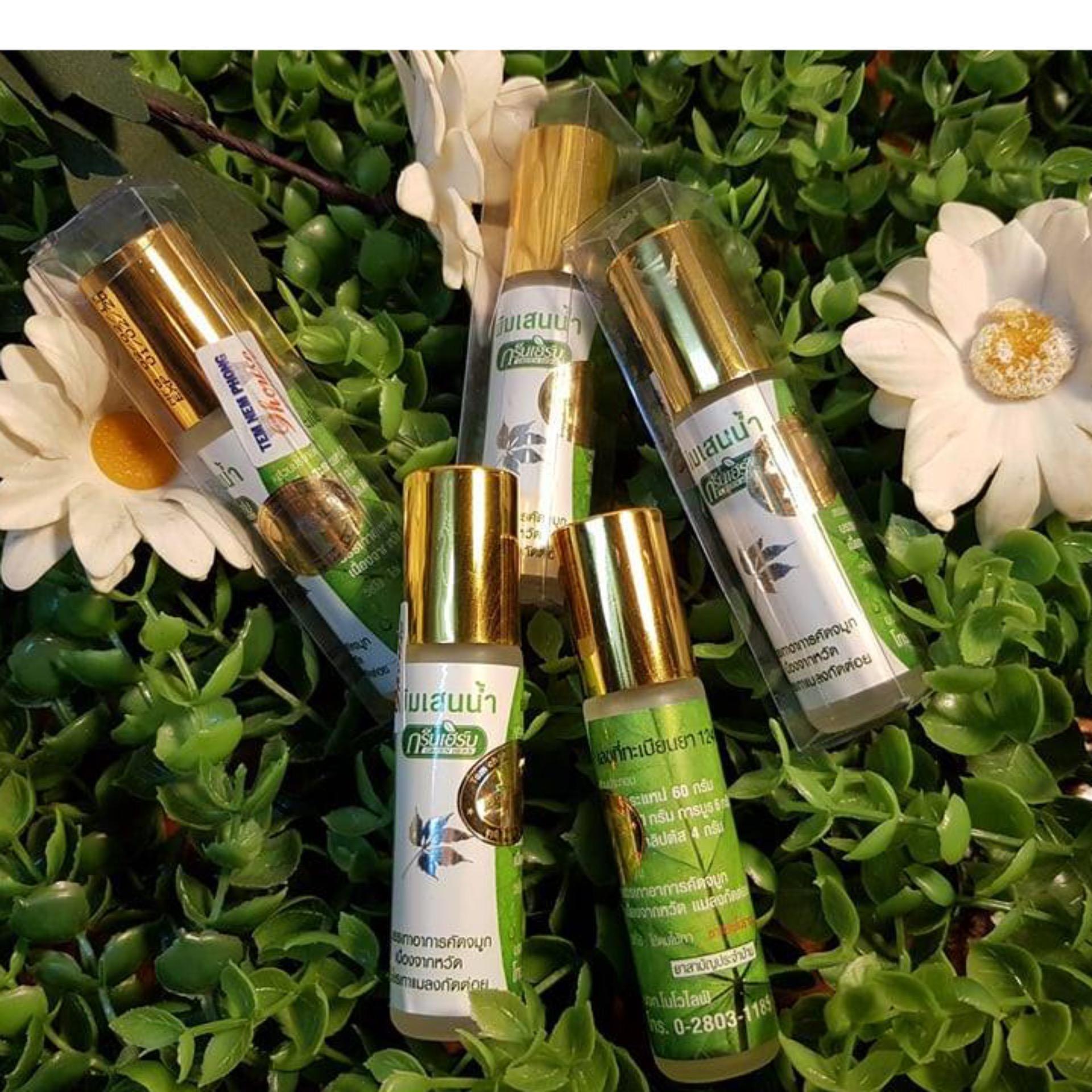 Dầu Nóng Khuynh Diệp Green Herb Thái Lan