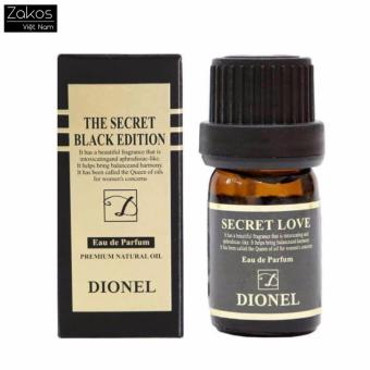 Dầu thơm phụ khoa Dionel Secret Love Black Edition Korean (5ml)