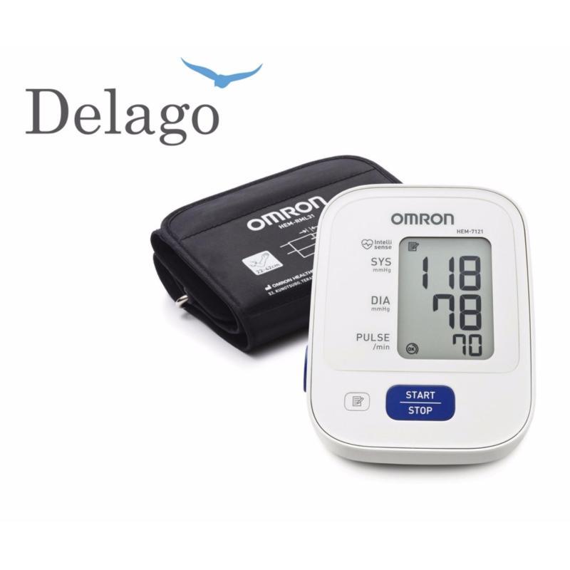 Nơi bán [DELAGO] Máy đo huyết áp bắp tay Omron 7121