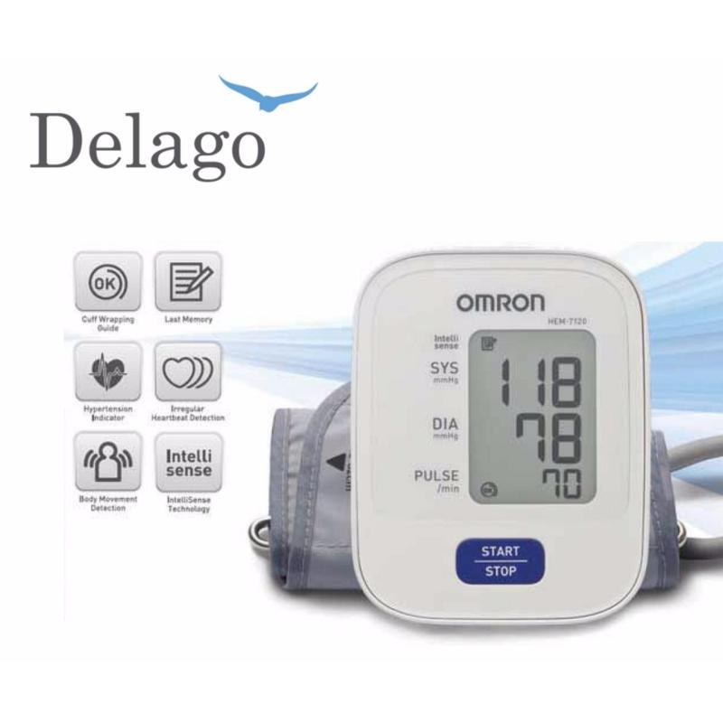 Nơi bán [Delago] Máy đo huyết áp bắp tay Omron HEM 7120
