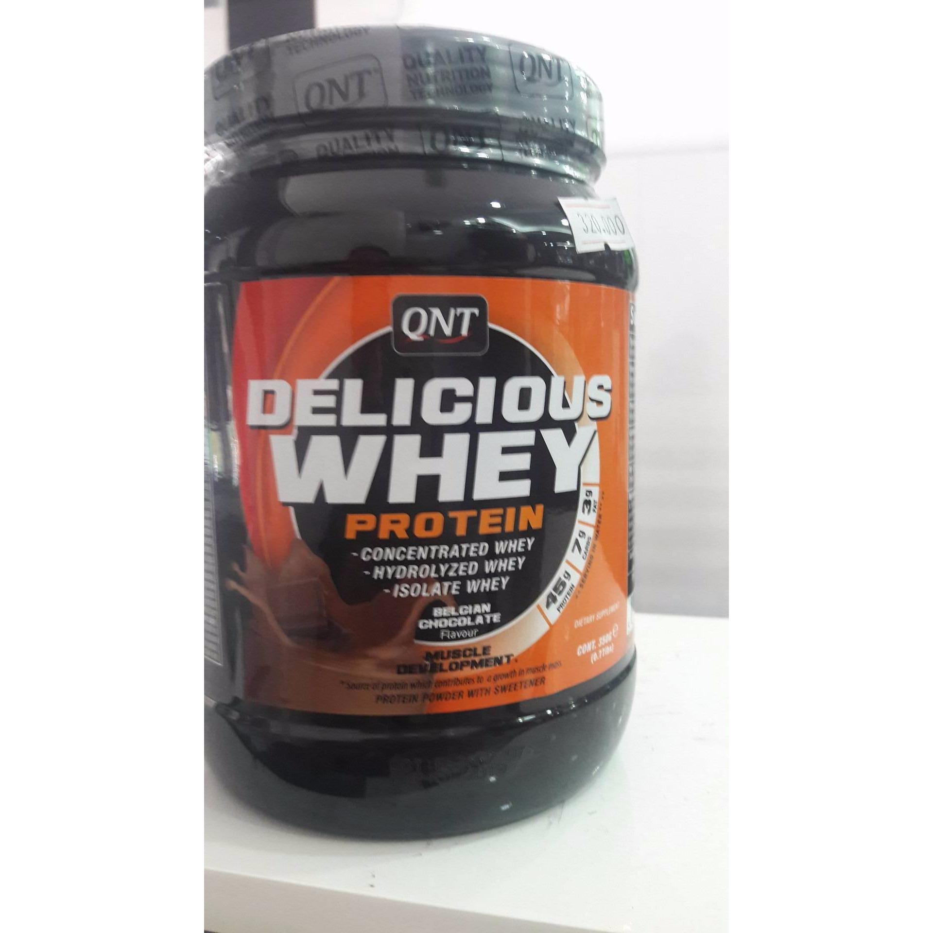 Đánh Giá Thực phẩm bổ sung Delicious Whey Protein 350g