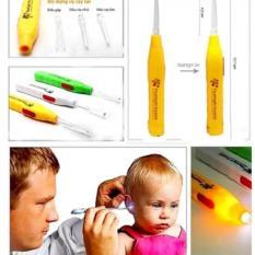 Dụng cụ lấy ráy tai có đèn cho bé HT250