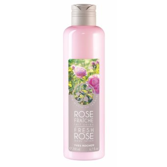 Dưỡng thể YVES ROCHER BODY LOTION FRESH ROSE 200ML