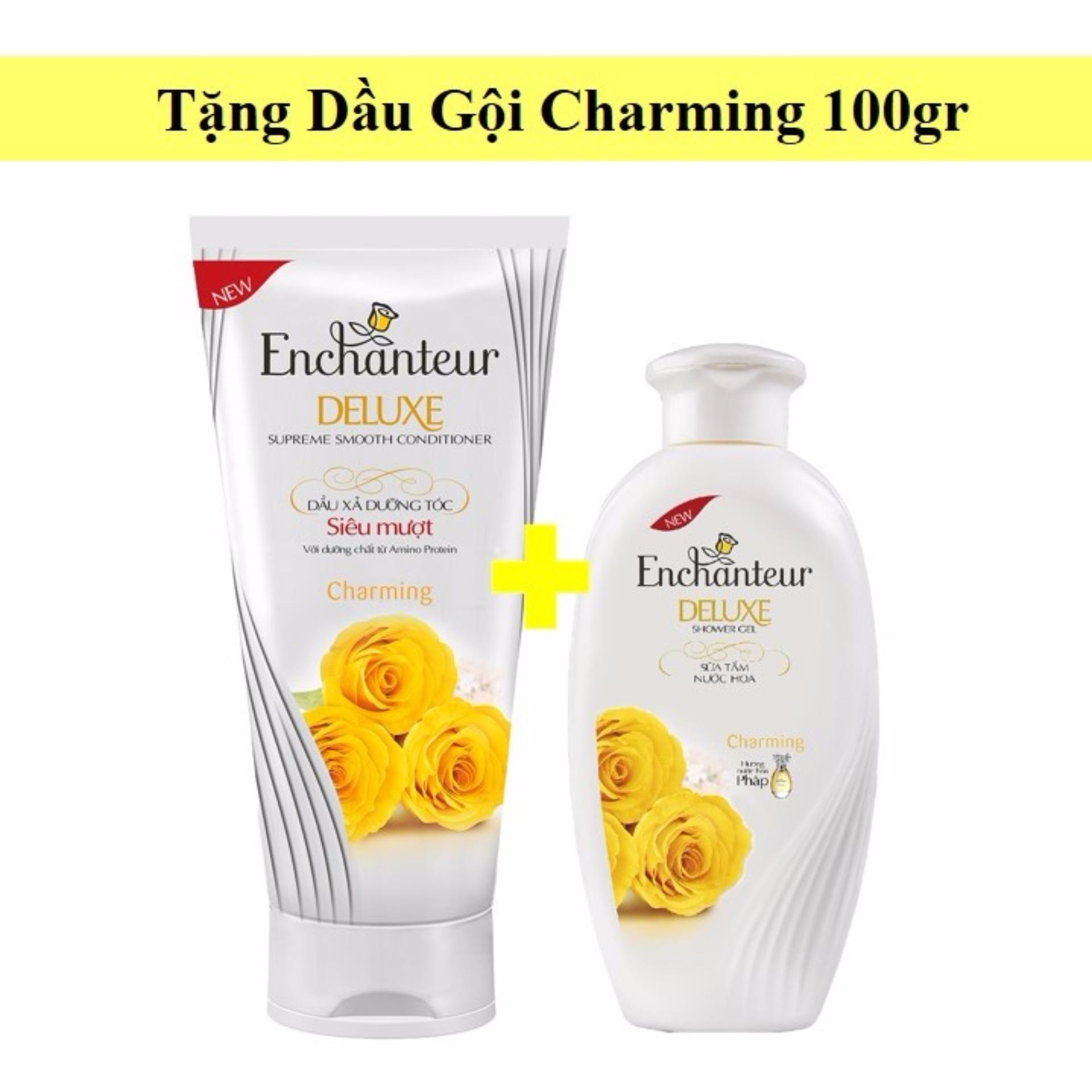 Nơi nào bán Enchanteur – Dầu Xả Enchanteur Charming 180gr + tặng dầu gội Charming 100gr