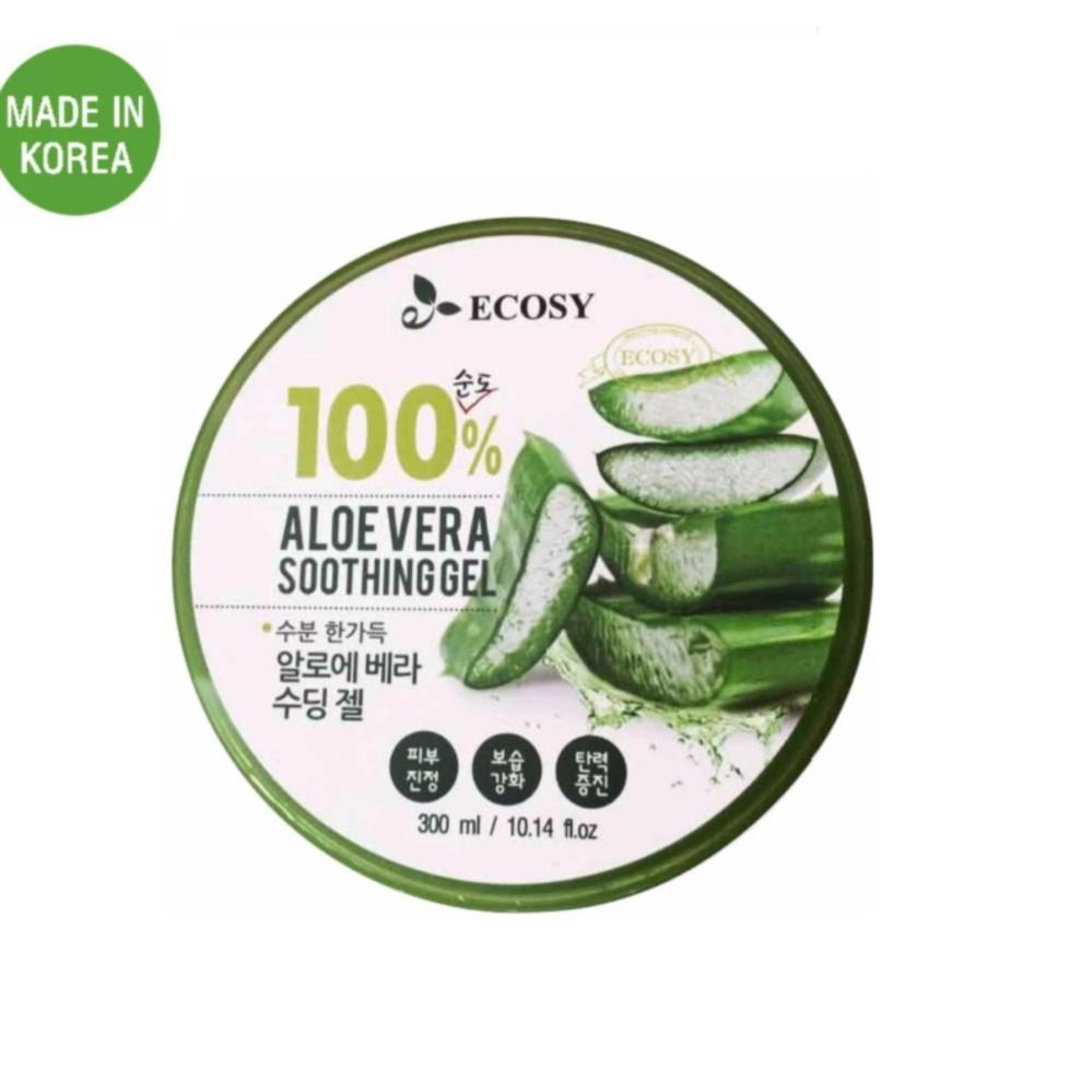 Gel dưỡng da chiết xuất nha đam Ecosy Aloe Vera Soothing Gel 300 ml