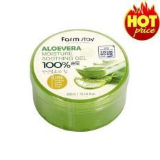 Gel dưỡng da Nha Đam Hàn Quốc- Aloevera Moisture Soothing Gel – 100% tự nhiên – Gel nha dam 100% – Gel duong am da