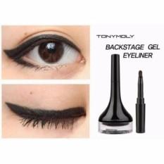 Gel kẻ mắt Tonymoly Backstage Gel Eyeliner 4g – Màu đen 01