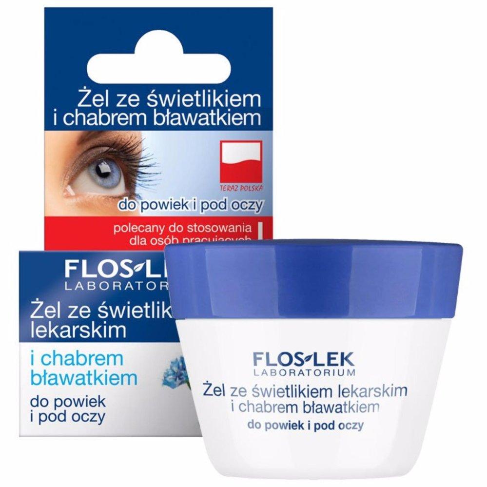 Gel trị quầng thâm và ngăn ngừa bọng mắt Floslek – Eyebright Và Hoa Bắp 10g