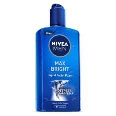 Báo Giá Gel rửa mặt NIVEA MEN Max Bright 150ml