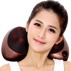 Gối massage hồng ngoại 8 bi 2 chức năng massage cao cấp