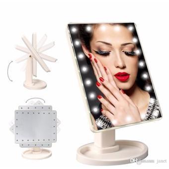 Gương để bàn trang điểm kết hợp đèn led cao cấp