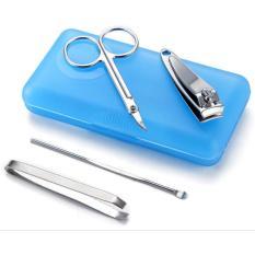Bộ 4 món làm móng siêu bền đồ cắt móng tay làm móng tại nhà