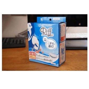 Hộp 20 Miếng Thấm Hút Mồ Hôi Nách Riff Nhật Bản (No Box) - 10269317 , NO007HBAA39IOJVNAMZ-5720539 , 224_NO007HBAA39IOJVNAMZ-5720539 , 299000 , Hop-20-Mieng-Tham-Hut-Mo-Hoi-Nach-Riff-Nhat-Ban-No-Box-224_NO007HBAA39IOJVNAMZ-5720539 , lazada.vn , Hộp 20 Miếng Thấm Hút Mồ Hôi Nách Riff Nhật Bản (No Box)