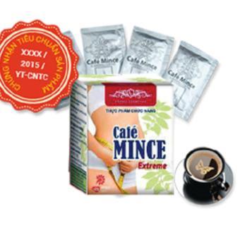 Hộp Cafe tan mỡ bụng, tan mỡ đùi Café Mince Extreme