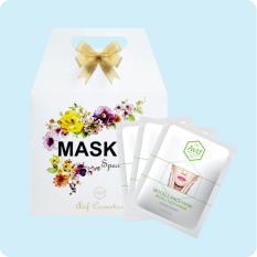 Hộp Quà 10 Mặt Nạ Avif Biocell Hydrating Face Mask Dưỡng Ẩm Da 10gói*23g