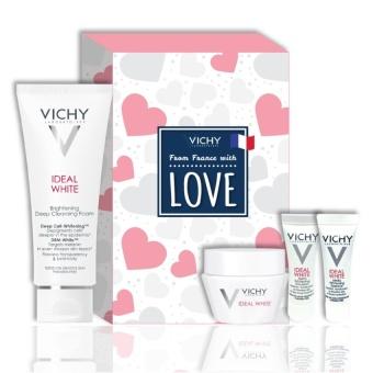 Hộp sản phẩm dưỡng trắng Vichy Ideal White Love Box