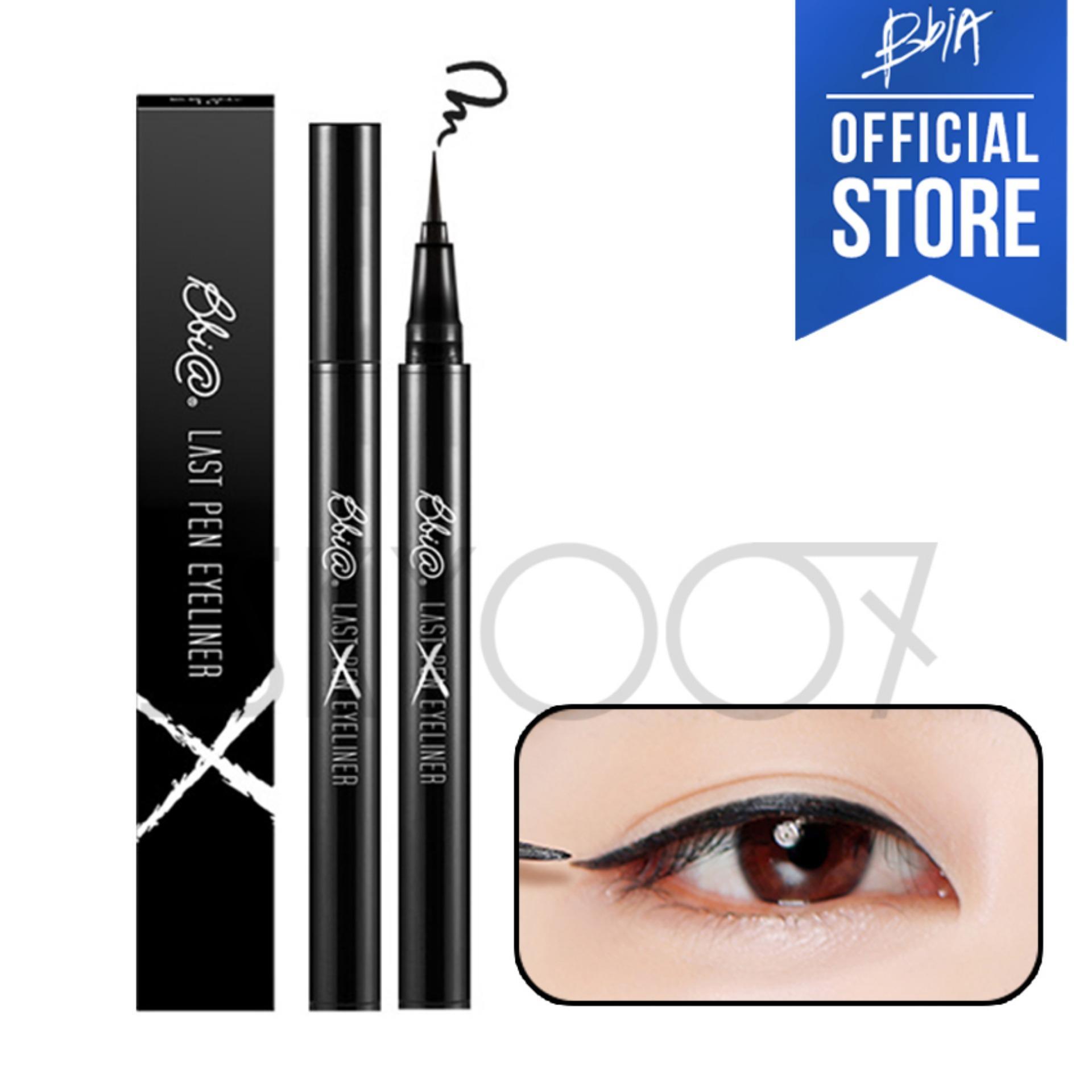 Kẻ mắt nước lâu trôi Bbia Last Pen Eyeliner – 01 Sharpen Black (Màu đen)