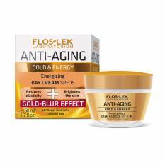 Kem chống lão hóa và tái tạo năng lượng ban ngày – Anti Aging Energizing day cream GOLD – BLUR SPF15 50ml