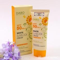 Kem chống nắng cao cấp trắng da DaBo White SunBlock Cream SPF 50 PA+++ 70ml – Hàn Quốc