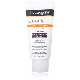 Kem chống nắng dành cho da mặt Neutrogena Clear Face SPF 55