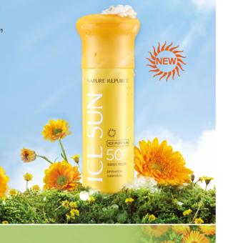Kem chống nắng NATURE REPUBLIC ICE PUFF SUN SPF50+ PA +++