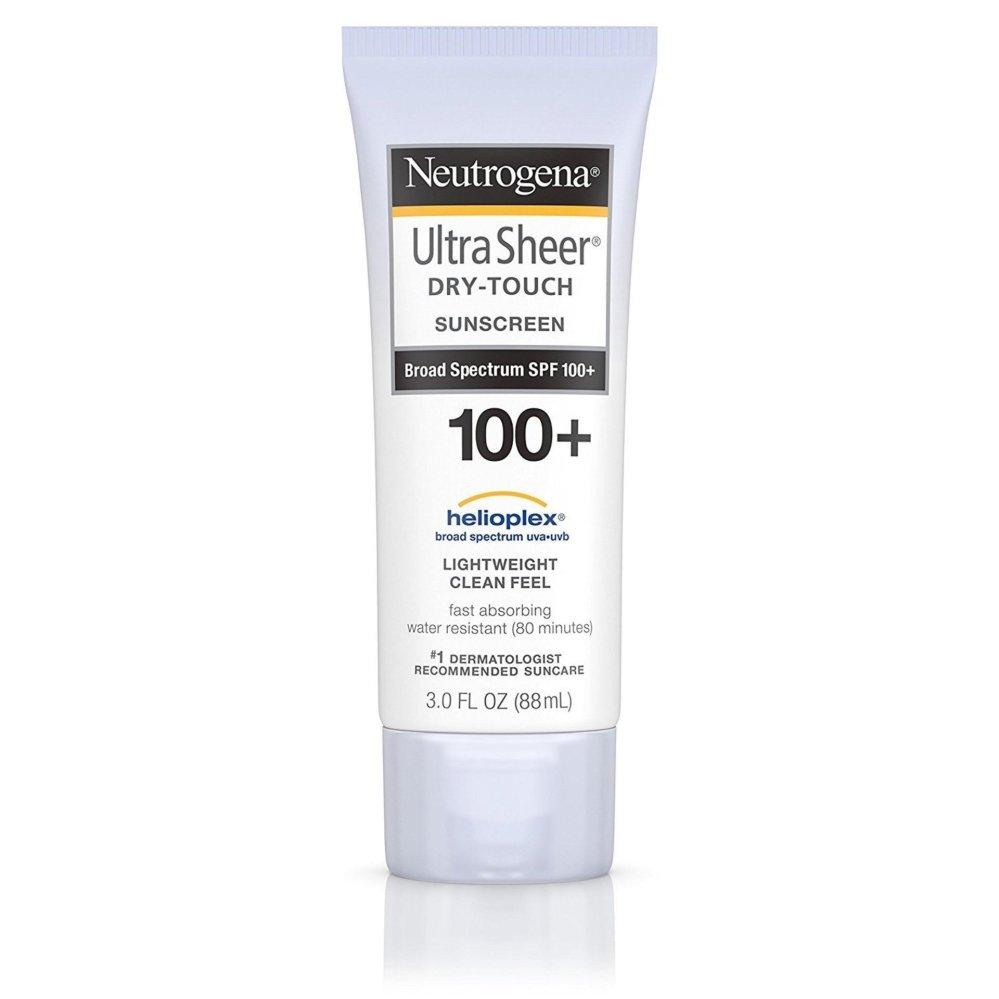 Kem chống nắng toàn thân Neutrogena Ultra Sheer Dry-Touch Sunscreen SPF 100+ 88ml