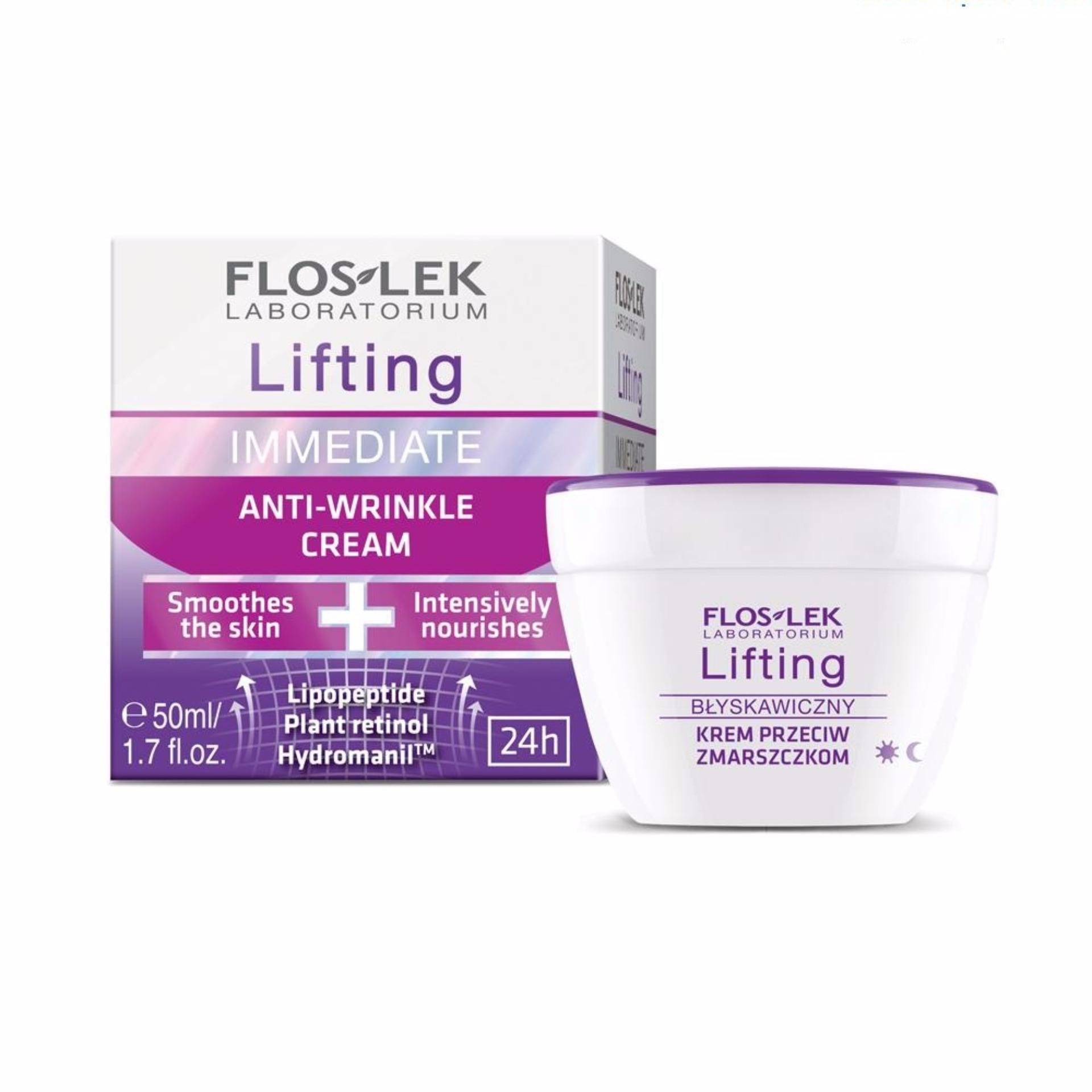 Kem làm săn chắc và chống nhăn – Immediate Lifting Anti wrinkle cream 50ml