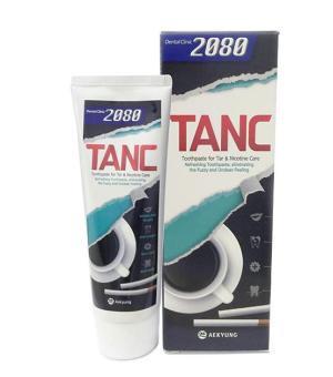 Kem đánh răng 2080 TANC cho người hút thuốc và uống coffee