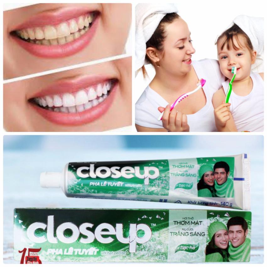 Hình ảnh Kem đánh răng Close Up Fresh tea Deep Action 160g Nhập khẩu Thái Lan KDRCUTL01