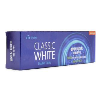 Kem đánh răng trắng răng Classic White Double Clinic - 8487175 , OE680HBAA3R3KFVNAMZ-6690120 , 224_OE680HBAA3R3KFVNAMZ-6690120 , 52000 , Kem-danh-rang-trang-rang-Classic-White-Double-Clinic-224_OE680HBAA3R3KFVNAMZ-6690120 , lazada.vn , Kem đánh răng trắng răng Classic White Double Clinic