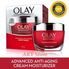 Mẫu sản phẩm Kem dưỡng ẩm chống lão hóa Olay Regenerist Micro-Sculpting Cream 48g Mỹ