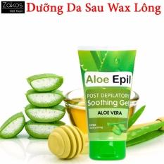 Kem dưỡng da sau tẩy lông giúp da mịn màng và dịu nhẹ chiết xuất từ nha đam Aloe Epil