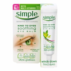Kem Dưỡng Mắt Simple Kind To Eyes Soothing Eye Balm Winds Down Tired Eyes 15ml