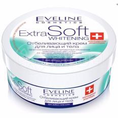 Kem dưỡng trắng da mặt và toàn thân Eveline Extra Soft Whitening 200ml