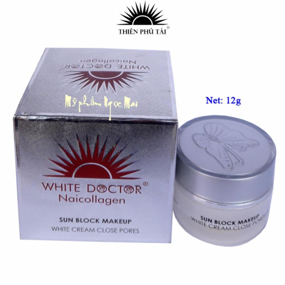 Kem dưỡng trắng, Se khít lỗ chân lông White Doctor Naicollagen (12g)
