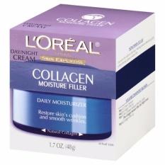 Kem dưỡng và tái tạo da bị lão hóa bổ sung L'Oreal collagen dùng ngày và đêm Day / Night Cream Collagen Filler 48