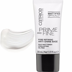 Kem Lót Kềm Dầu, Se Khít Lỗ Chân Lông Catrice Prime And Fine Pore Refining Anti-Shine Base 30ml
