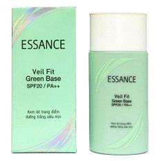 Kem lót trang điểm dưỡng trắng siêu mịn Veil Fit Green Base SPF20/PA++ 30g