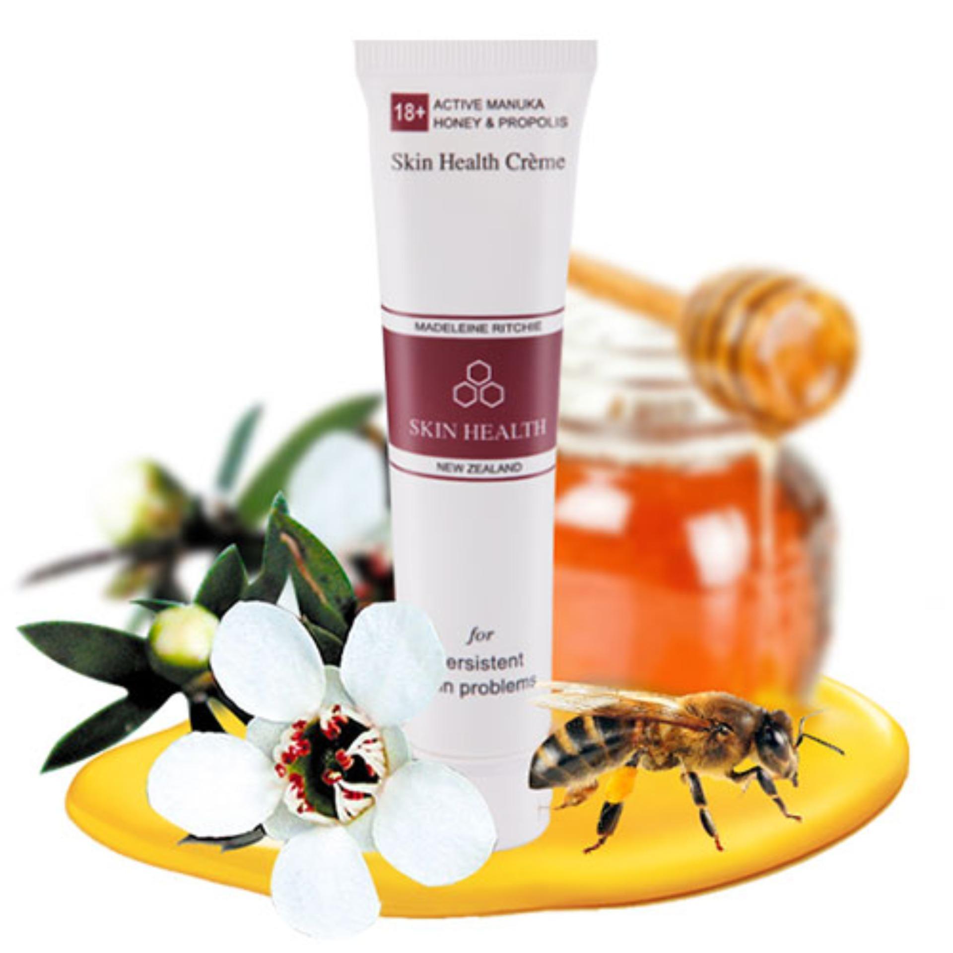 Kem mật ong Manuka 18+ tuýp 40ml hỗ trợ viêm da, chàm da, vẩy nến, nhạy cảm, khô, mụn, dị ứng