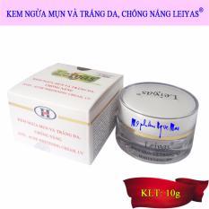 Kem ngừa mụn và trắng da chống nắng Leiyas (10g) tốt nhất