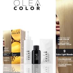 Thuốc nhuộm tóc không Amoniac OleaColor ITALY màu 9 Extra Light Blonde
