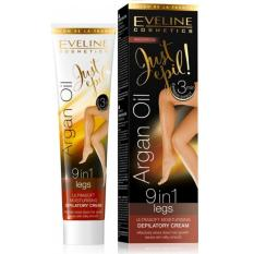 Kem tẩy lông 9 trong 1 Argan Oil_125ml -EVELINE
