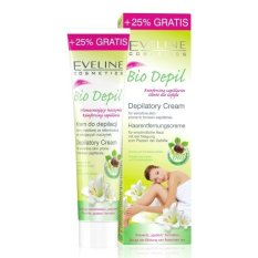 Kem tẩy lông chân hữu cơ cho da nhạy cảm Eveline 125ml