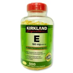 Kirkland Signature Vitamin E 400 IU nhập Mỹ