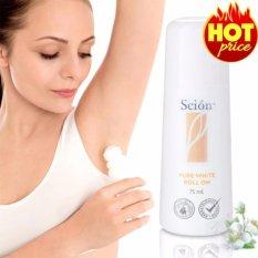Lăn khử mùi Nuskin Scion Pure White Roll On (75ml), khử mùi mồ hôi nách