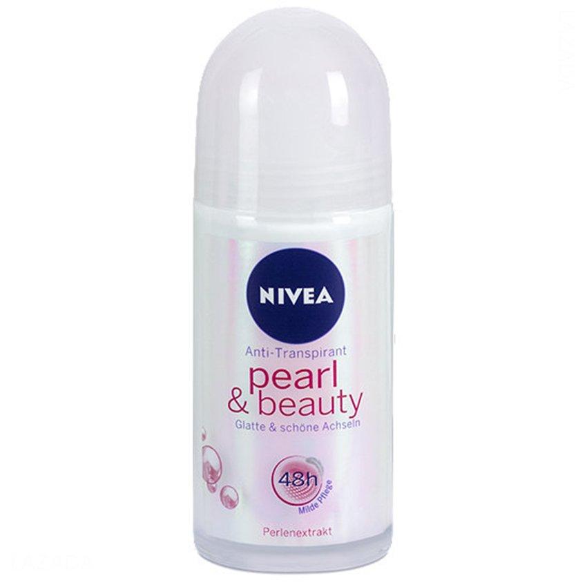 Mẫu sản phẩm Lăn ngăn mùi NIVEA Pearl and Beauty Roll-on 25ml