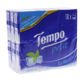 Lốc 18 gói khăn giấy Tempo Petit Icy Menthol - 8771862 , TE023HBAA1VSELVNAMZ-3186778 , 224_TE023HBAA1VSELVNAMZ-3186778 , 54000 , Loc-18-goi-khan-giay-Tempo-Petit-Icy-Menthol-224_TE023HBAA1VSELVNAMZ-3186778 , lazada.vn , Lốc 18 gói khăn giấy Tempo Petit Icy Menthol