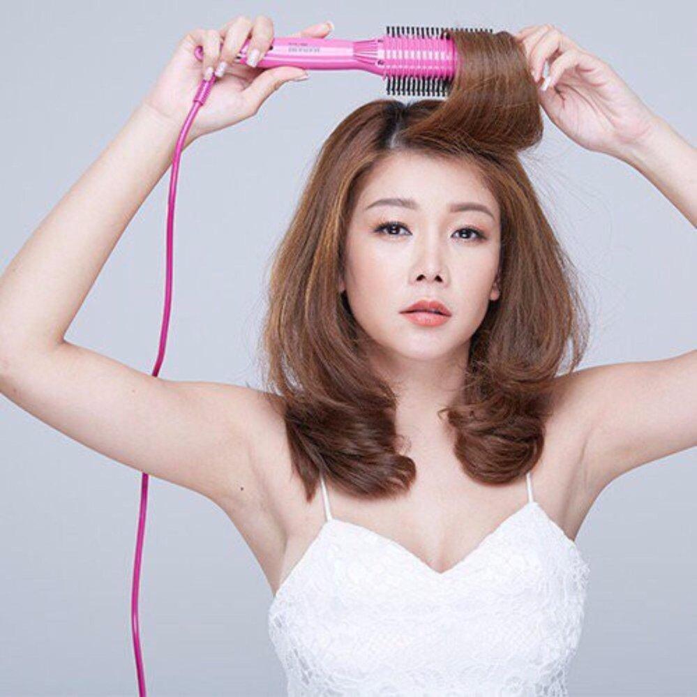 Mẫu sản phẩm Lược điện uốn tóc đa năng cao cấp